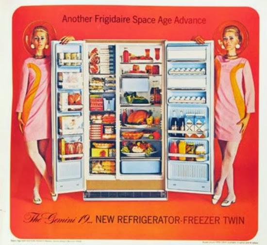 1960s fridge