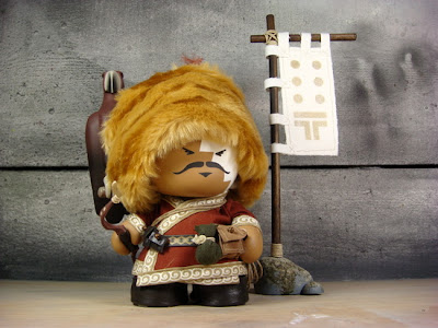 The Eagle Hunter Custom Vinyl Figure by Huck Gee