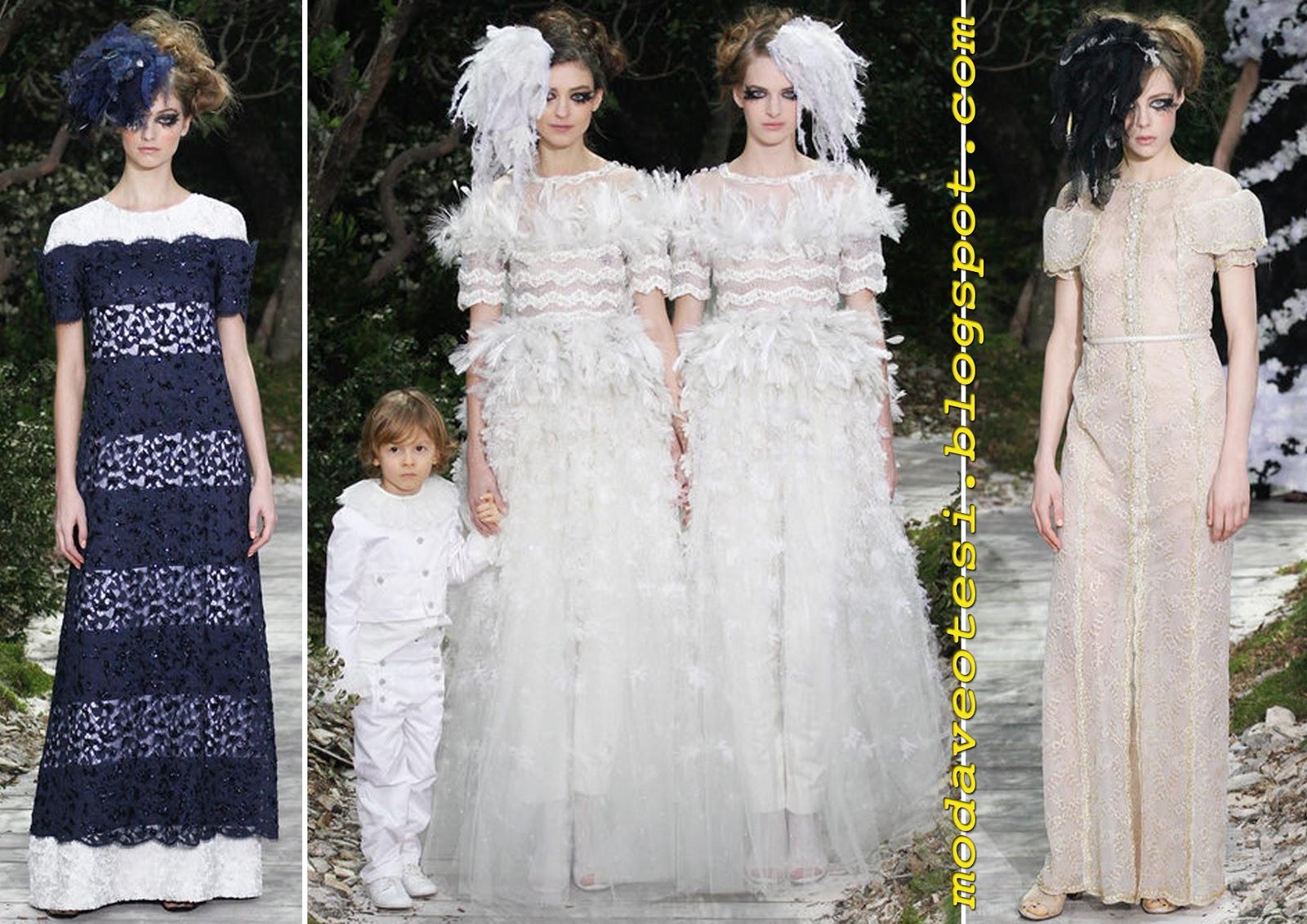 Twilight Saga Wedding Dress 91 Vintage Karl Lagerfeld yine yapti