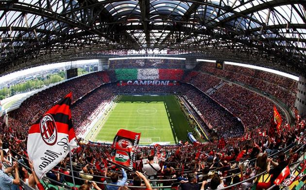 Live Football: Stadio San Siro - AC Milan & Inter Milano ...
