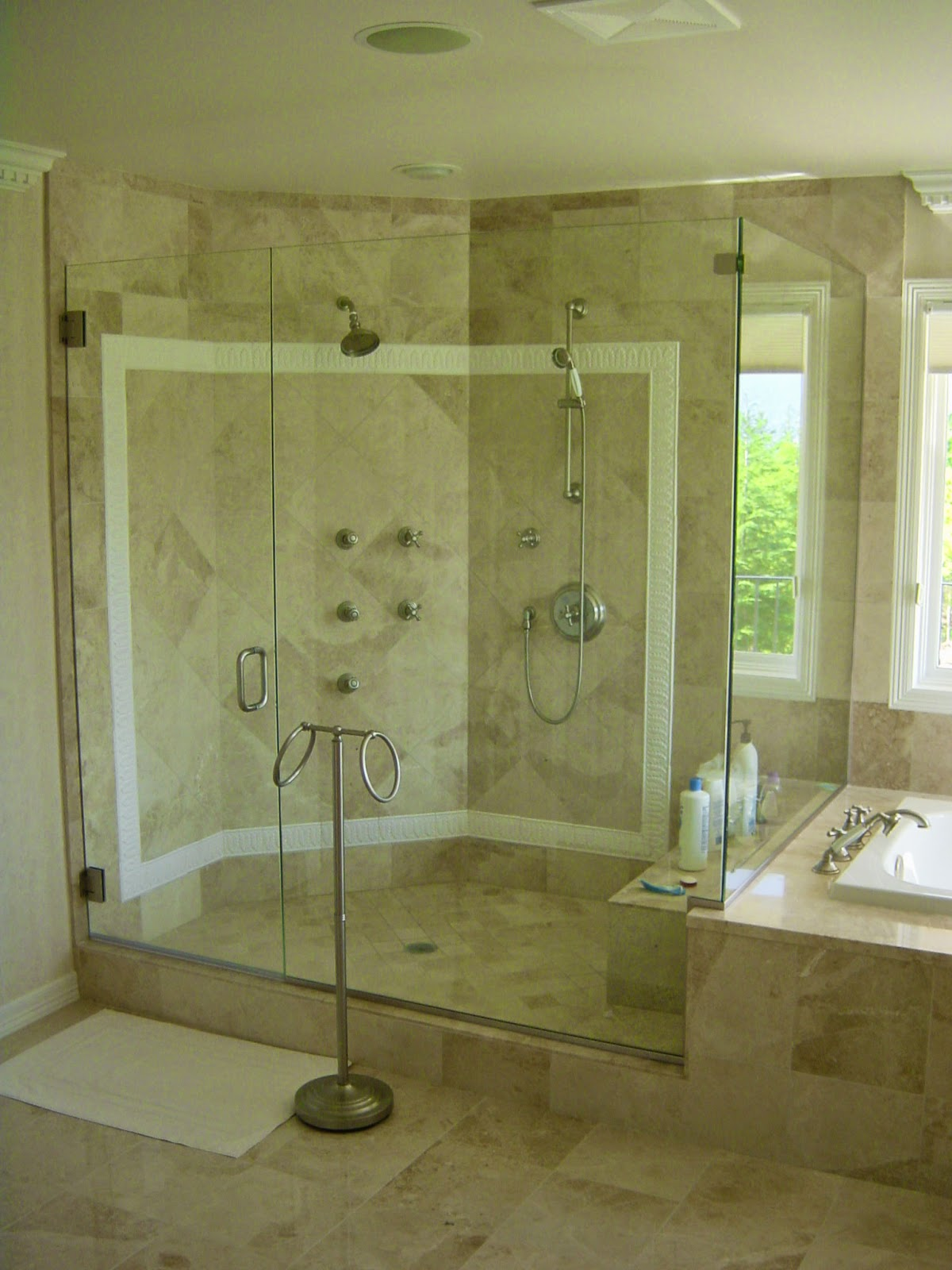 Frameless Glass Shower Doors Design ~ New York <br>Shower Doors