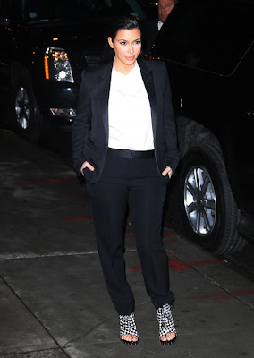 Bel Diamond: Kim Kardashian In East Coat Fashion Style
