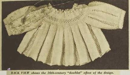 Henry V111 baby jacket pattern