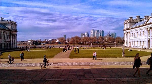 Canary Wharf desde Greenwich