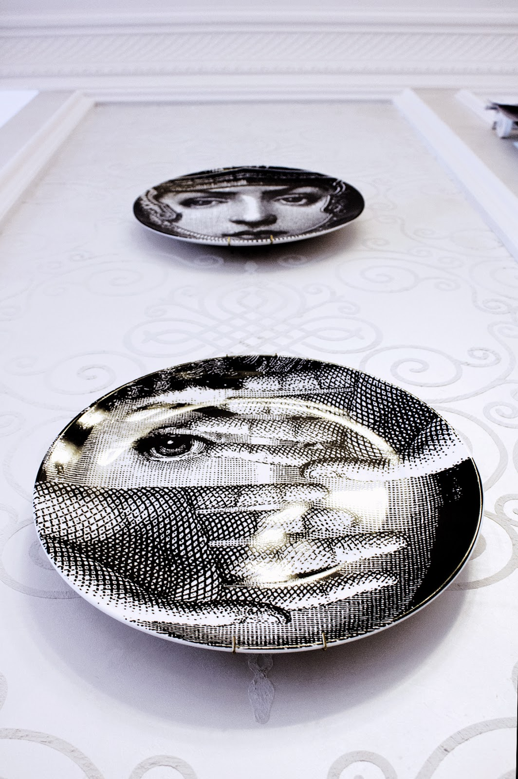 decorations by Fornasetti