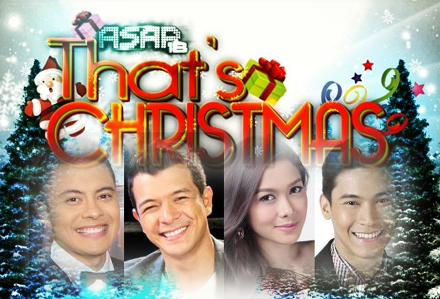 ASAP That's Christmas 2013 led by Paolo valenciano, Jericho Rosales, Maja Salvador and Enchong Dee