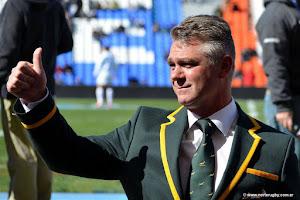 Heyneke Meyer, entrenador de Sudáfrica