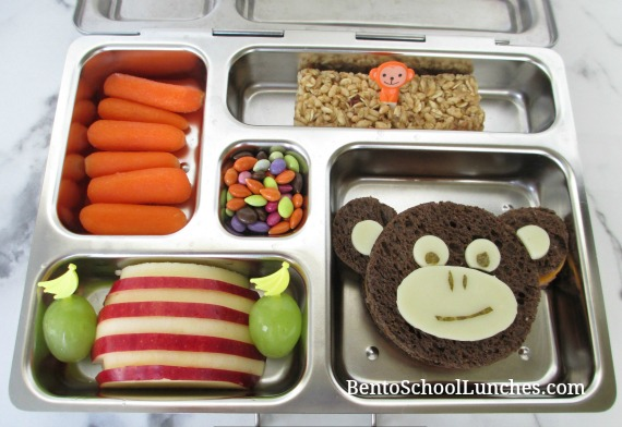 Chinese New Year 2016 Monkey Bento