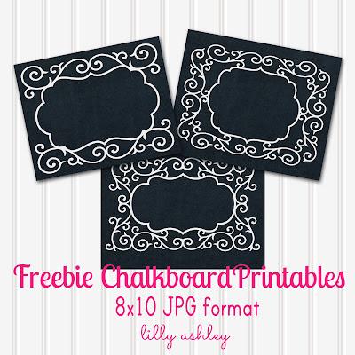 Chalkboard Printables