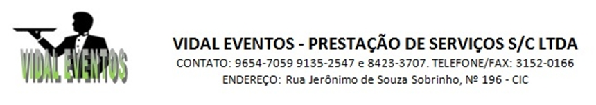 Vidal Eventos Curitiba