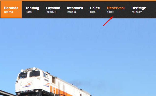 Reservasi PT. Kereta Api Indonesia