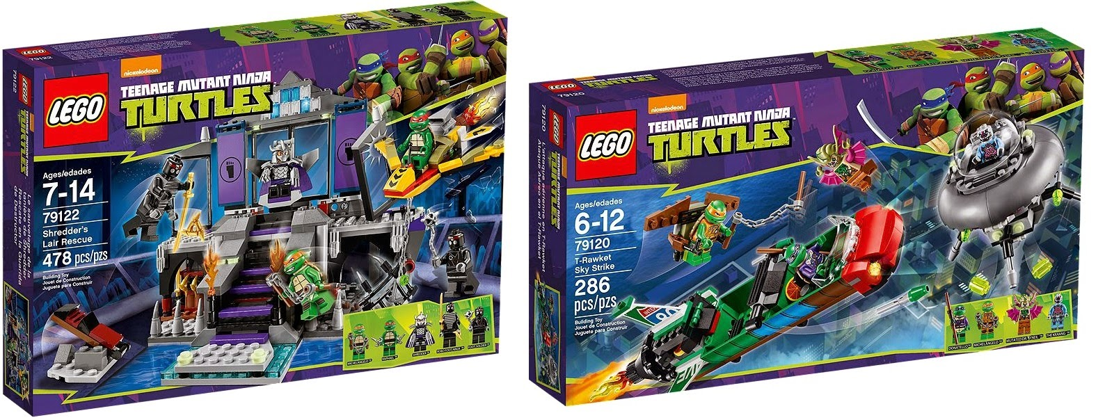 LEGO Teenage Mutant Ninja Turtle, Nickelodeon, LEGO 2014