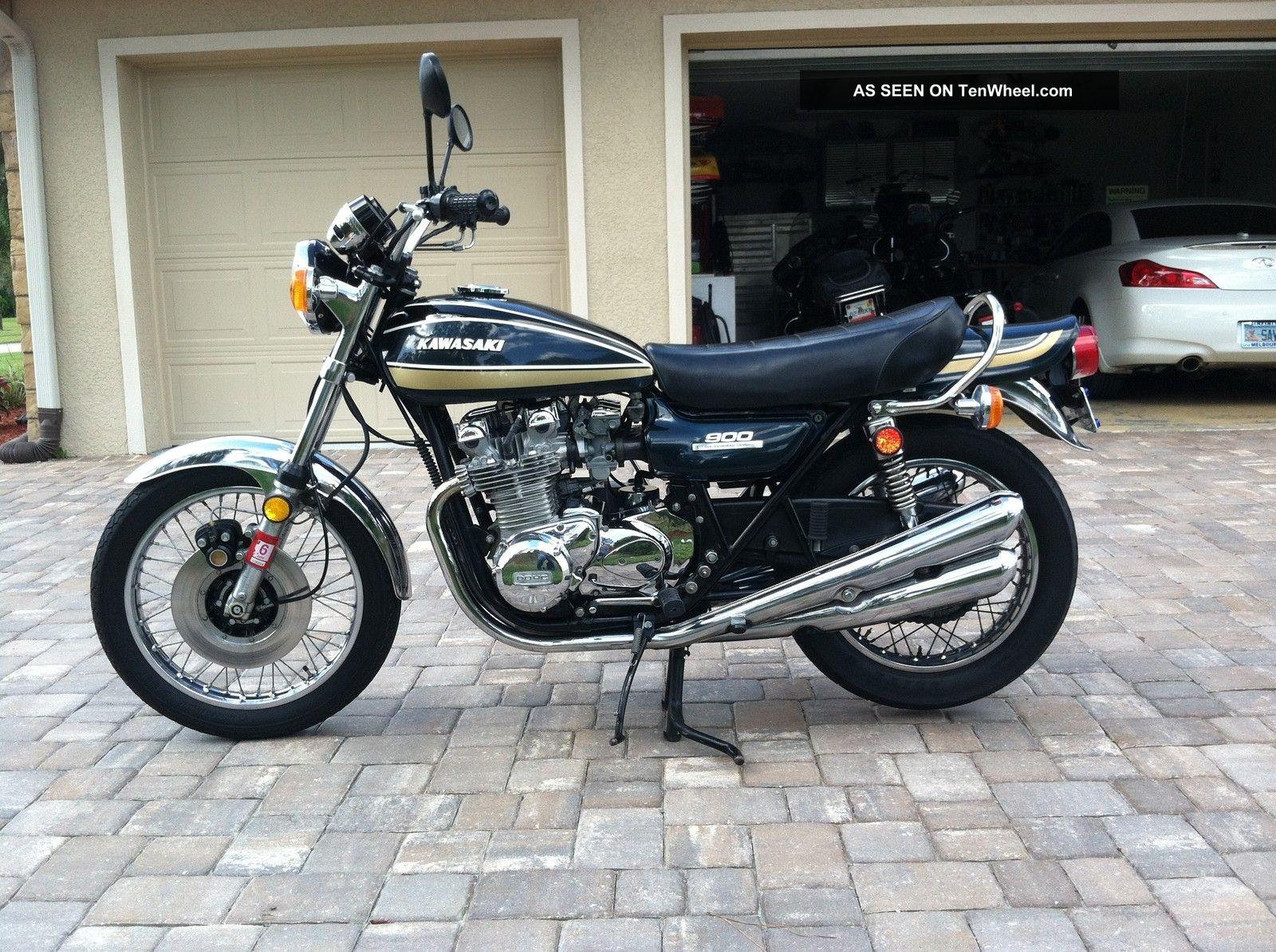 Restored Kawasaki Z1 - 1975 Photographs at Classic Bikes