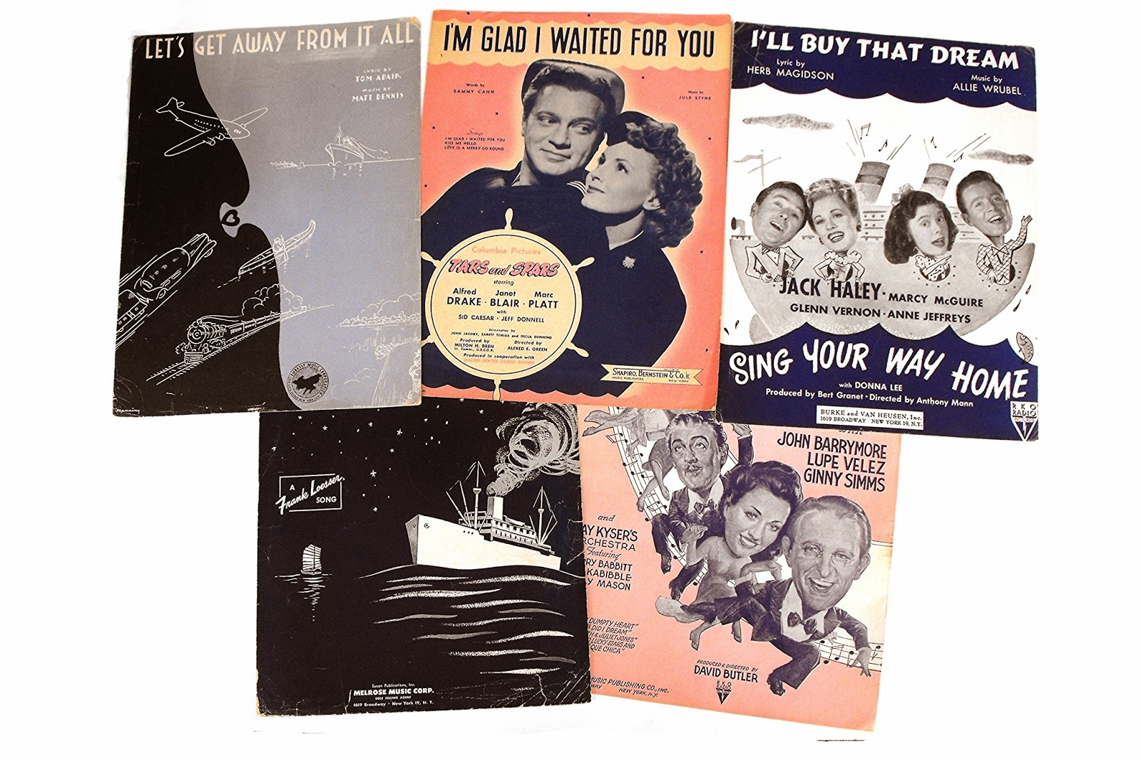 https://www.etsy.com/listing/165829441/1940s-nautical-sheet-music-set-old