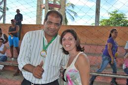 O SECRETÁRIO GIVALDO SILVA, RECEBE MEDALHA DE HONRA AO MÉRITO PELO APOIO AO CAPS DO MUNICIPIO.