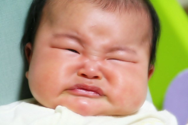 pictures of crying babies