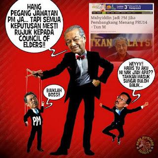 Mahathir Masih Mahu Berkuasa