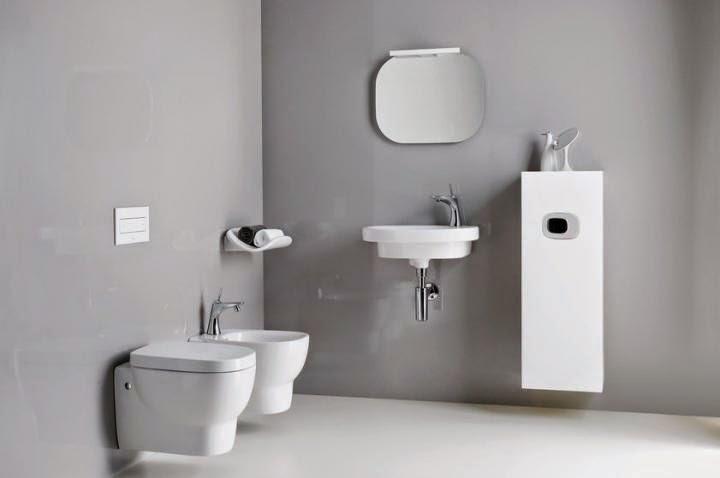 small modern bathroom