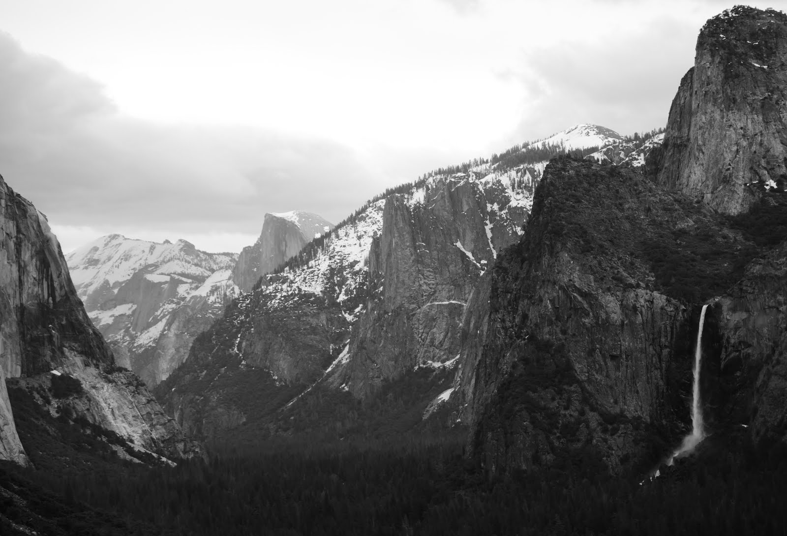 Yosemite Winter into Spring