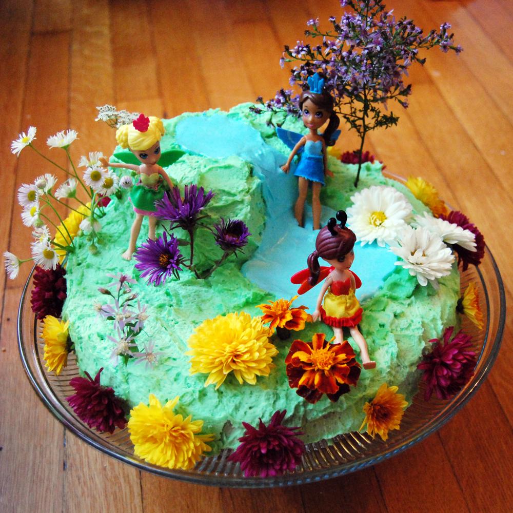 Home And Garden Cake Ideas Photograph Flower Garden Cake I