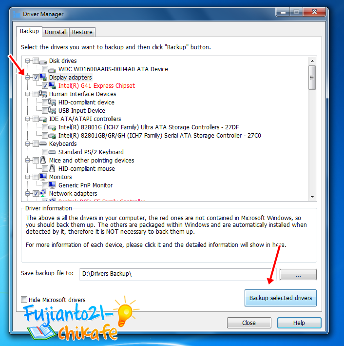 Cara Backup Driver Windows sebelum instal ulang