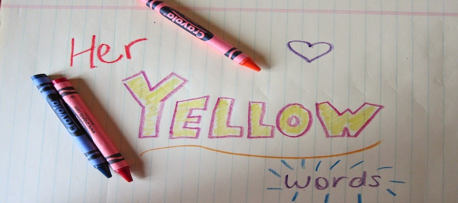 Yellow Words