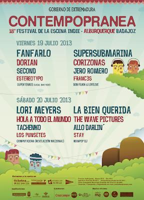 festival contempopránea 2013 cartel
