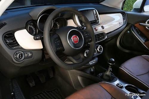 Fiat 500X Dash