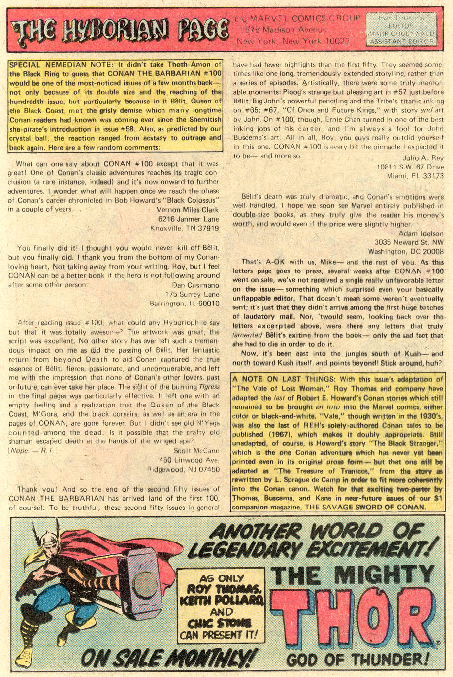 Conan the Barbarian (1970) Issue #104 #116 - English 20