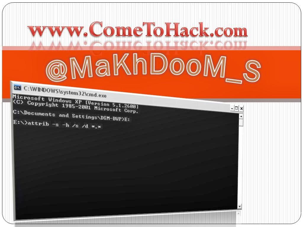 http://www.cometohack.com/2012/12/remove-autorun-viruses.html