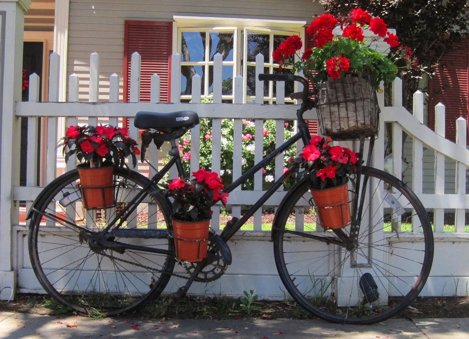 Как можно украсить велосипед своими руками в домашних 48