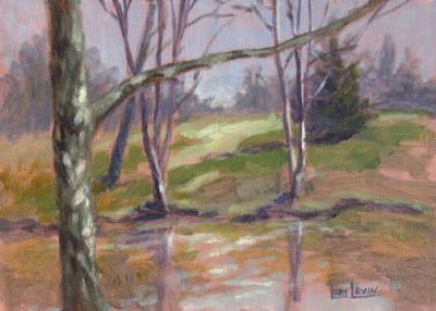 plein air painting by Lori Levin