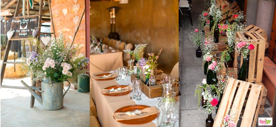 Producci n y decoraci n de eventos bodas vintage for Decoracion de bodas vintage
