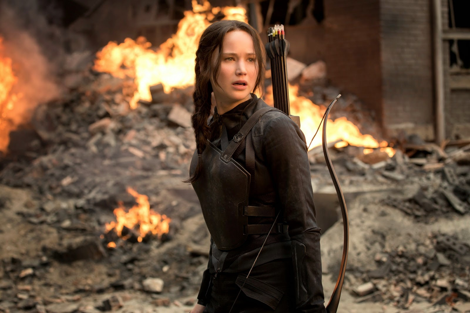 jennifer lawrence the hanging tree hunger games mockingjay part one