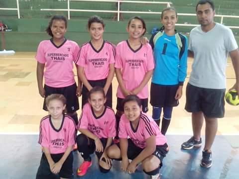 RIOVERDEMS  Copa Interior de Futsal Feminino  Rio Verde classifica em todas  as catergorias. 686562592c953