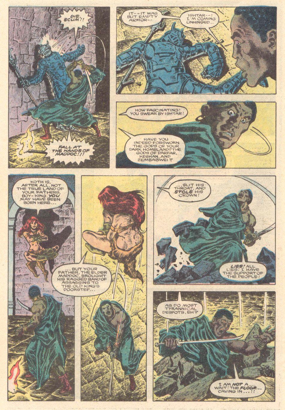 Conan the Barbarian (1970) Issue #183 #195 - English 11