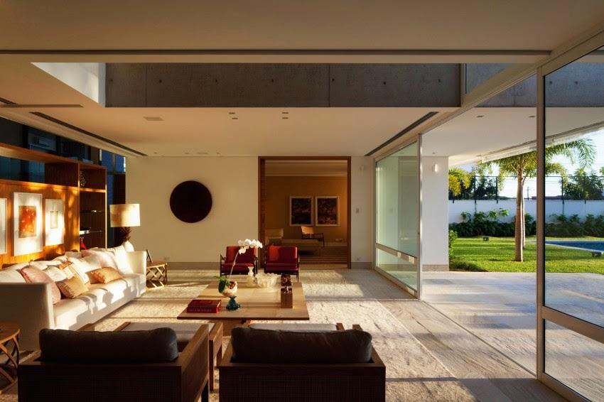 Hogares frescos casa de campo contempor nea residencia for Diseno de oficinas contemporaneas