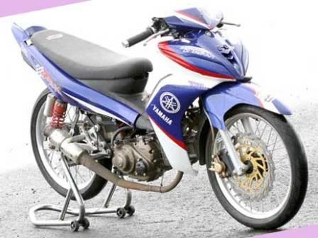 Gallery Foto Modifikasi Motor Yamaha Jupiter Mx Terbaru