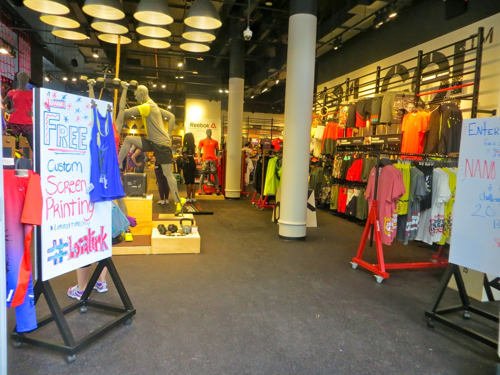 reebok fit hub store crossfit gym opens in new york city interior design shops nyc Another quick dare: NYCu0027s Summer Streets is happening this month--beginning  SATURDAY! Check out last yearu0027s recap to learn what itu0027s all about, ...