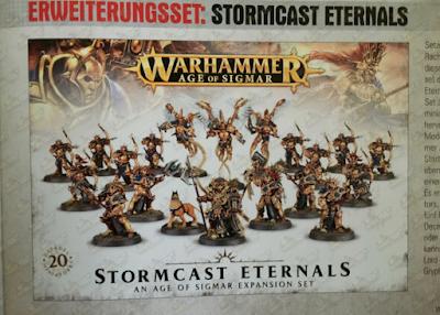 Ejército básico de Stormcast Eternal para Age of Sigmar