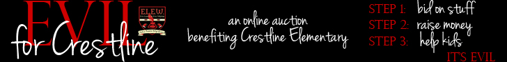 An online auction benefiting Crestline Elementary