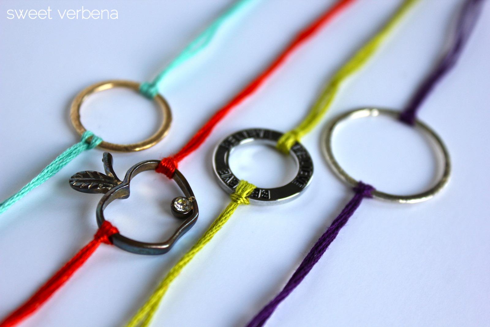 Bracelets a tutorial sweet verbena - Regalos originales hechos a mano ...