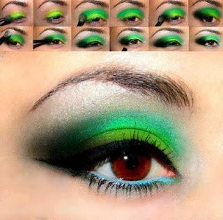 Maquillaje de Ojos Para Fiestas, parte 1