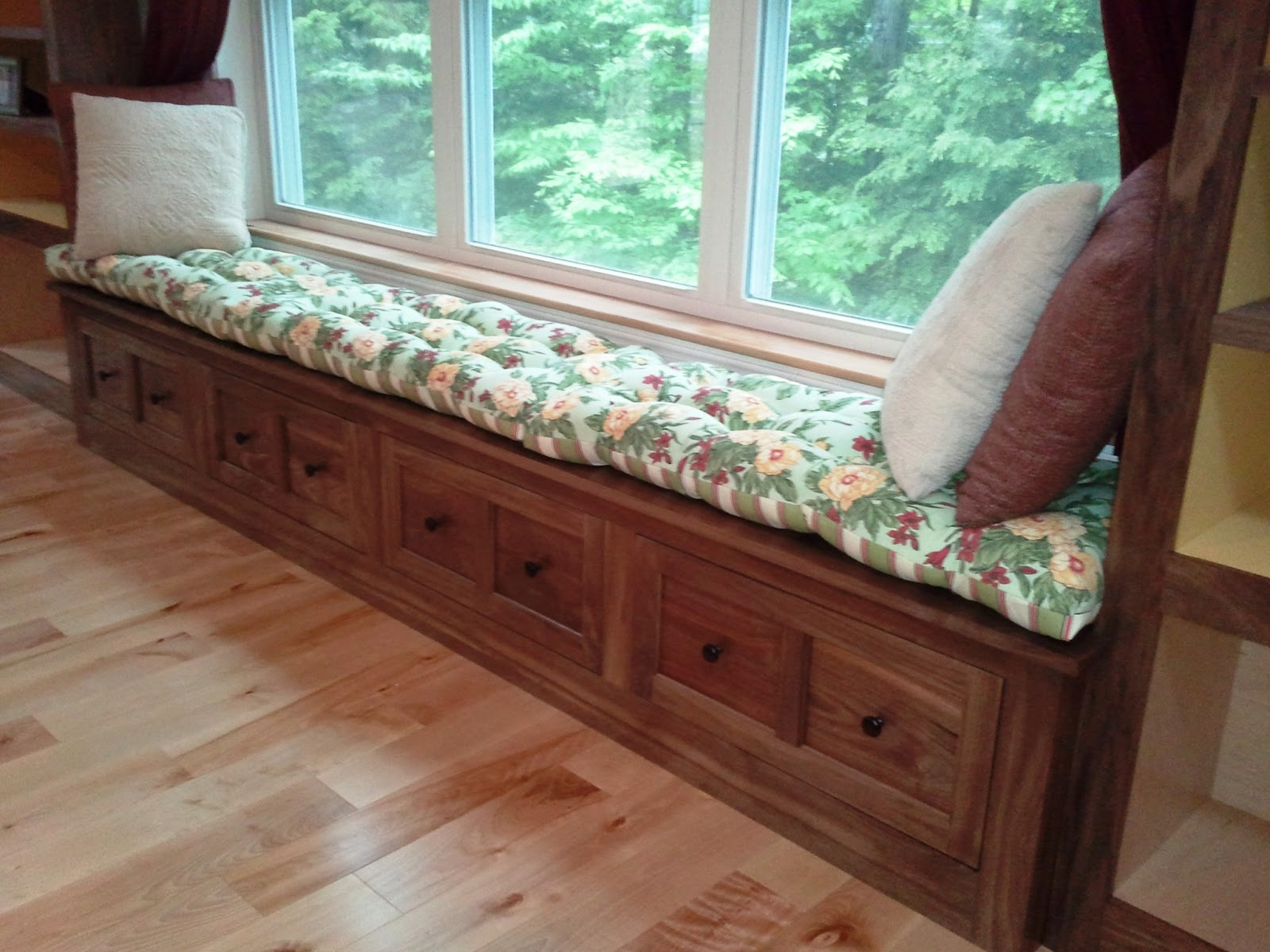 Creative Woodworking Window Seat Cushion