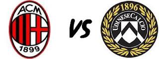 AC Milan Vs Udinese - Jornada 23 de la Liga Italiana