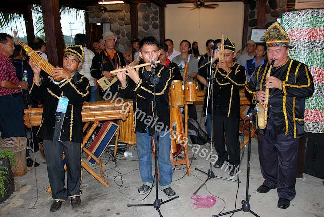Traditional Bamboo Band from Kundasang