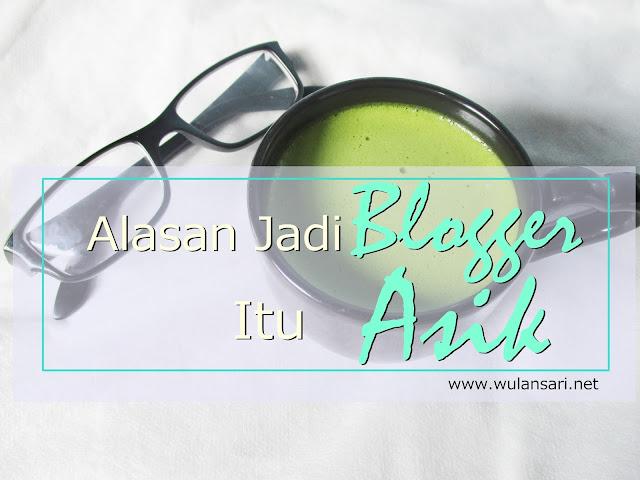 Alasan Jadi Blogger Itu Asik