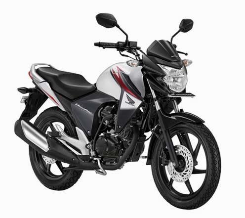 New Honda Mega Pro White