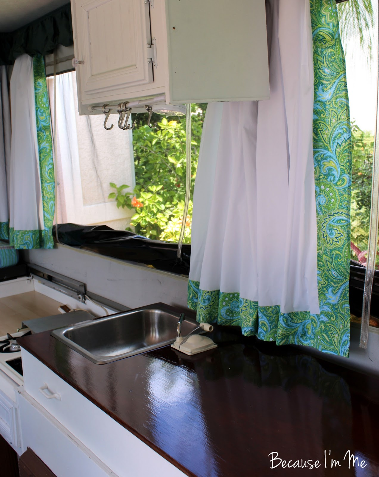 how to clean tent trailer curtains