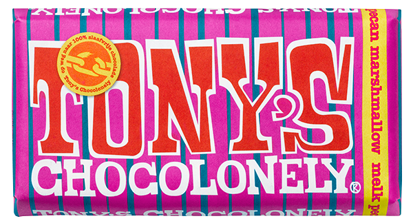 My happy kitchen test: Tony Chocolonely marshmellow pecan